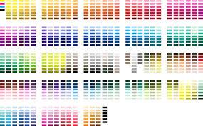 Free Pantone Colour Chart Pdf Document