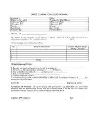 Cleaning Proposal Template Pdf New Cleaning Bid Proposal