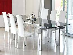 glass table and chairs cape cod sling aluminum 7 dining set small glass dining room tables