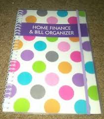 Home Finance Bill Organizer 2015 Details About Bright New Polka Dot Design Home Finance Bill Organizer 2015 2017