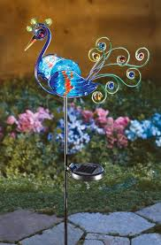 decorative garden stakes lawn art