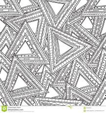 Small Picture seamless black white pattern triangles coloring pages adults anti