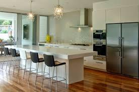 Kitchen Design Breakfast Bar Modern Kitchen Style Built Modern Kitchen With Breakfast Bar Ideas