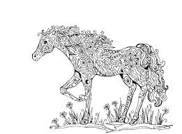 Race Horse Coloring Pages To Print Horse Color Pages Together With