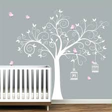 baby girl wall decals plus baby girl pink wall decal nursery wall sticker erfly flower wall