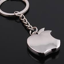 apple keychain. aliexpress.com : buy new arrival novelty souvenir metal apple key chain creative gifts keychain ring trinket car from h