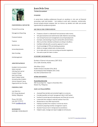 Best Resume Format For Accountant Beautiful Accountant Resume Word Format Mailing Format Accountant 3
