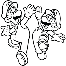 Mario Coloring Pages Online With Free Printable Coloring Pages And