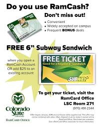 Colorado Open State - Account Your At Ramcard Facebook Food Free Ramcash University