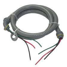 AFC Cable Systems Liquidtite 10/3 x 6 ft. AC Whip
