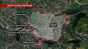 Bath clean air zone: Polluting vehicles to be charged from Monday - BBC News