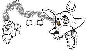 Coloring Pages Mangle Fresh Collection Of Fnaf Nightmare Five Nights