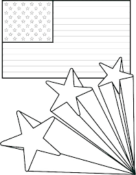 Coloring Page Of American Flag Zupa Miljevcicom