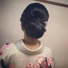 Moriyama Mamiさんのヘアスタイル 下目シニヨンシニヨン