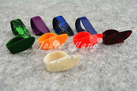 Online Shop Lots of 100pcs <b>Guitar Finger Thumb Picks Celluloid</b> ...