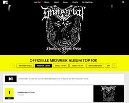 Midweek Album Chart Immortal Enter The German Album Charts On 2 Metal Invader