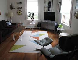 image of living room area rugs white