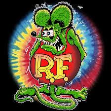 tye dye rat fink t shirt cats like us
