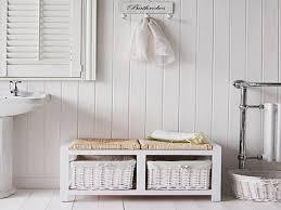 Bathroom Bench White - Home Design