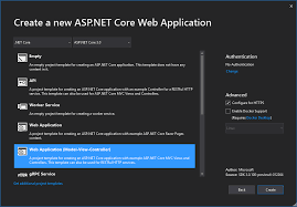net core 3 0 web application