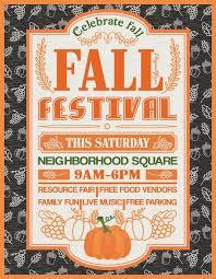 Fall Festival Flier Fall Festival Free Party Flyer Template Download Free Flyer