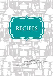 recipes binder cover. Fine Binder Agrandir To Recipes Binder Cover C