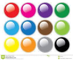 Round Glossy Buttons Stock Vector Illustration Of Isolated 2879524