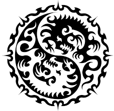 Motiv Tetování Yin Yang 1393