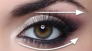 makeup tutorials for green eyes the straight line technique for hooded eyes full demo