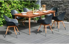 Small Picture Avalon 6 Seater Designer Garden Dining Set