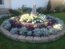 Small Picture Circle flower garden in front of my house garden decor
