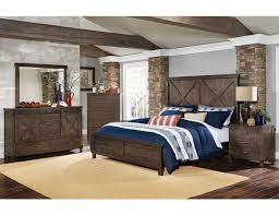 Image Canopy Bed Sanibelindustrialbedroomfurniturejpg Dubquarterscom Sanibel Industrial Style Bed Collection