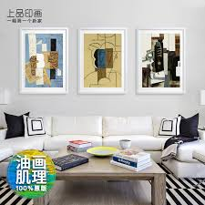 get ations top grade indian painting picasso guitar scandinavian minimalist living room sofa backdrop abstract art modern decorative