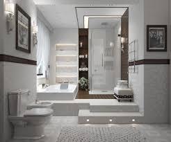 modern bathroom design 2013. Top Innovative Bathroom Design Ideas 2013 : Contemporary Style With Comfortable Builtin Bathtub And SpaLike Exper. Modern A