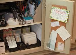 kitchen office organization. organize organizationideas kitchen cabinet mini office organization d