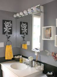 grey and yellow bathroom. bathroom decor inspiration on pinterest grey and yellow w