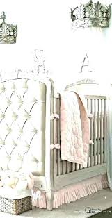 Crown Canopy For A Crib Or Bed Fit Princess Nursery Baby Cribs Wall ...