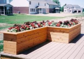 Small Picture Deck Planter Ideas Garden Ideas