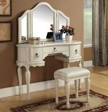 infini furnishings makeup vanity set with mirror reviews wayfair within idea 1