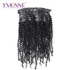 Kopen Goedkoop Yvonne Braziliaanse Kinky Krullend Clip In Hair