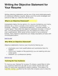 What To Put As Objective On Resume Stunning Objectives To Put On A Resume Likeable Write A Resume Unique How