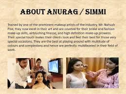 anurag simmi bridal makeup artist mumbai