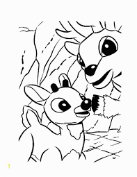 Rudolph Coloring Pages Online Santa S Reindeer Coloring Pages Best