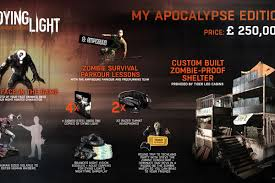 Dying Light Exclusive Content Dying Light Special Edition Costs 387 000 Polygon