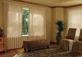 large sliding glass door blinds for family room