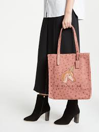 Coach 1941 Canvas North south Unicorn Tote Bag - Lyst