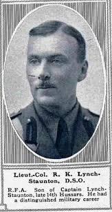 LTC Reginald Kirkpatrick Lynch-Staunton (Unknown-1918) - Find A ...