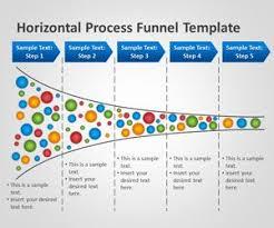 Process Template Free Horizontal Process Funnel Powerpoint Template Free Powerpoint
