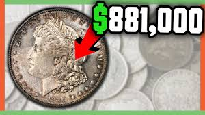 1922 Silver Dollar Value Chart 881 000 Rare Morgan Dollar Coins Worth Money Valuable Silver Dollar Coins