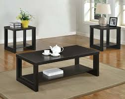 peculiar audra piece table set coffee tables end tables american freight in 3 piece coffee table